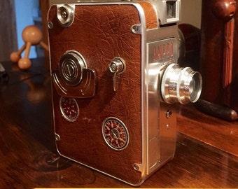 BEAUTIFUL Ampro Eight movie camera 8mm