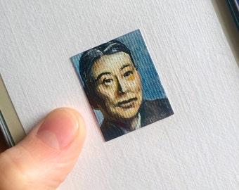 Mini Chiune Sugihara Portrait Painting, Framed