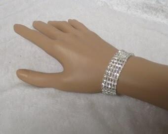 Vintage Diamante Bracelet-Superb!  CCS134