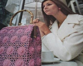 vintage crochet accessories