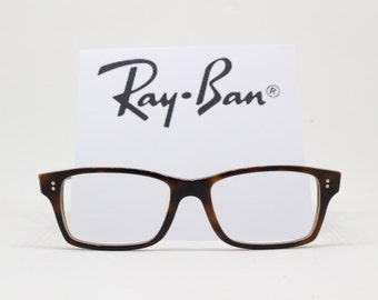 Ray Ban Wayfarer clear lens glasses. Horn rimmed classic fspectacles, mottled tortoise frame. Raybans, Ray-Ban, Ray bans, Rayban, original.