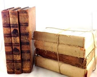 Antique & Vintage Books By the Bundle Set of Four