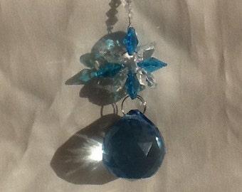 Auqua crystal butterfly suncatcher