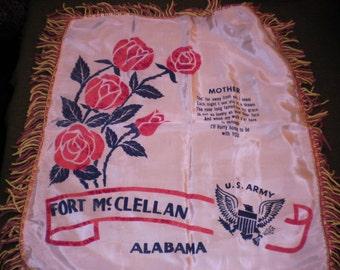 WW II Souvenier Pillow