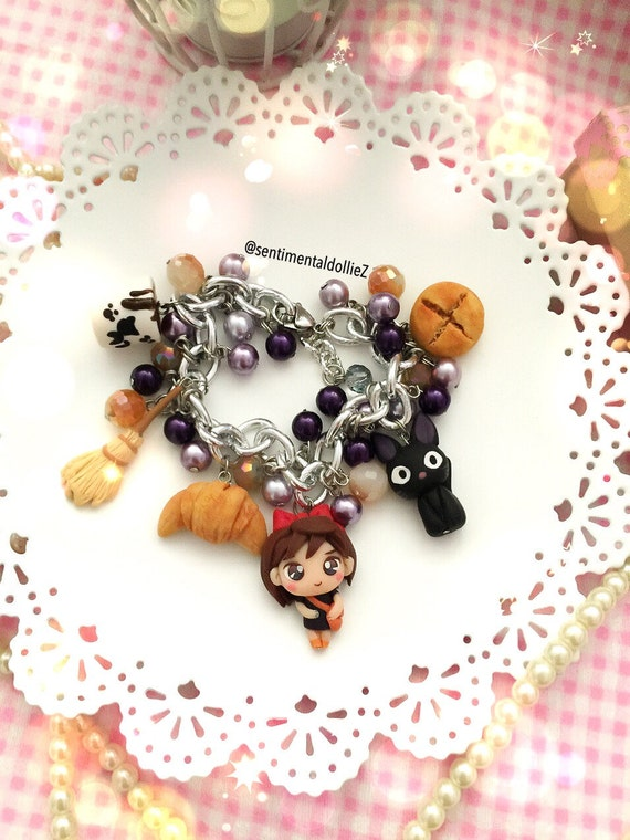 Kiki's Delivery Service Characters Bracelet