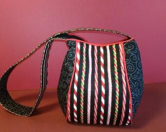 Peppermint Stick purse