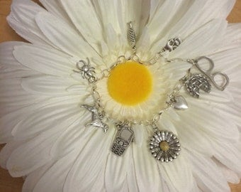 Undertale Inspired Charm Bracelet