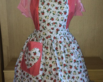 Tattoo Love Hearts Full Apron for all  Retro, Vintage Lovers