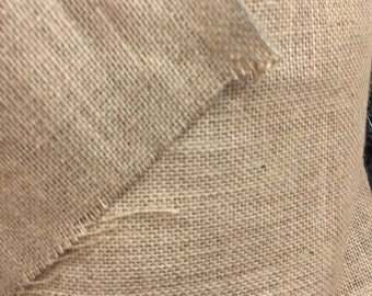 Natural Burlap Fabric By The Yard