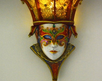 Venice mask : Wall lamp