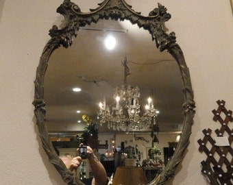 Charming Antique French Mirror