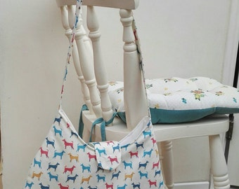 Cute vintage style doggy bag!