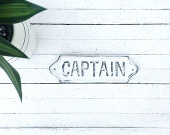 Nautical Decor-Captains Quarters-Ocean Lover-Nautical-Sea Decor-Boat Accessories-Man Gifts- Mancave Signs-Metal Signs-Wall Decor-Wall Signs