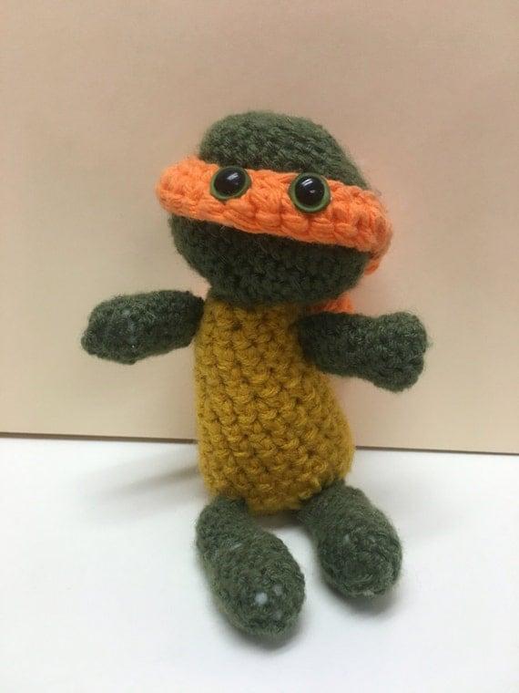 Amigurumi Tartarughe Ninja : Ninja Turtle Amigurumi by MeleMalloryCrafts on Etsy