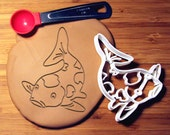 Koi Carp Cookie Cutter Made to order B0157