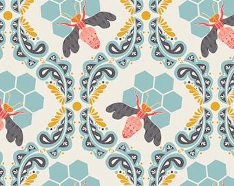 Art Gallery Fabrics - Sweet as Honey - Bee Sweet Morning cotton fabric