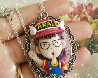 Arale collana necklace fimo anime manga cartoon
