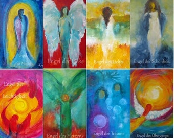 40 Tarot Cards with Angels