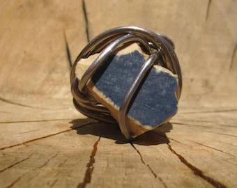 Blue Tile Ring