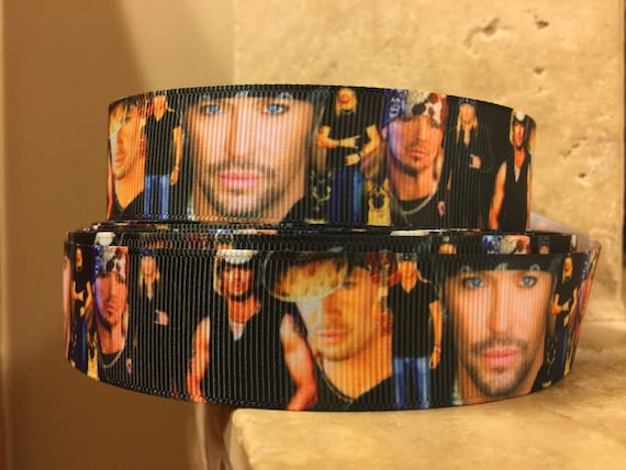 5 Yds Bret Michaels Ribbon From Dclribbons On Etsy Studio