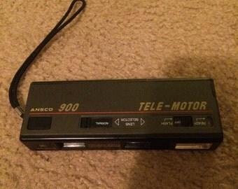 Ansco 900 Tele-Motor film camera
