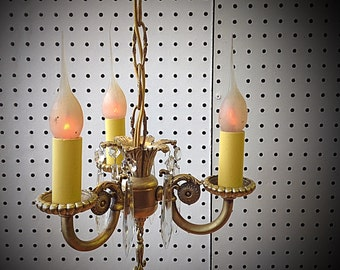 Tiny Victorian Chandelier, #81016B