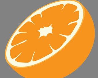 Citrus fruits vinyl sticker
