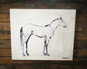 Horse Sketch Canvas