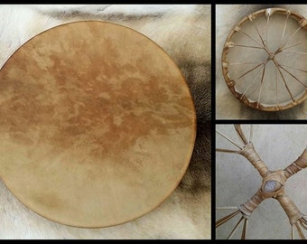 "18"" Stag Shamanic Drum - Made to Order"