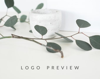 Logo Preview - Sample ONE Logo Design - Try Before You Buy