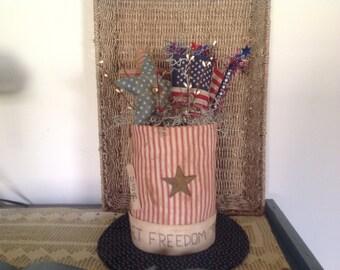 Uncle Sam Top Hat Centerpiece