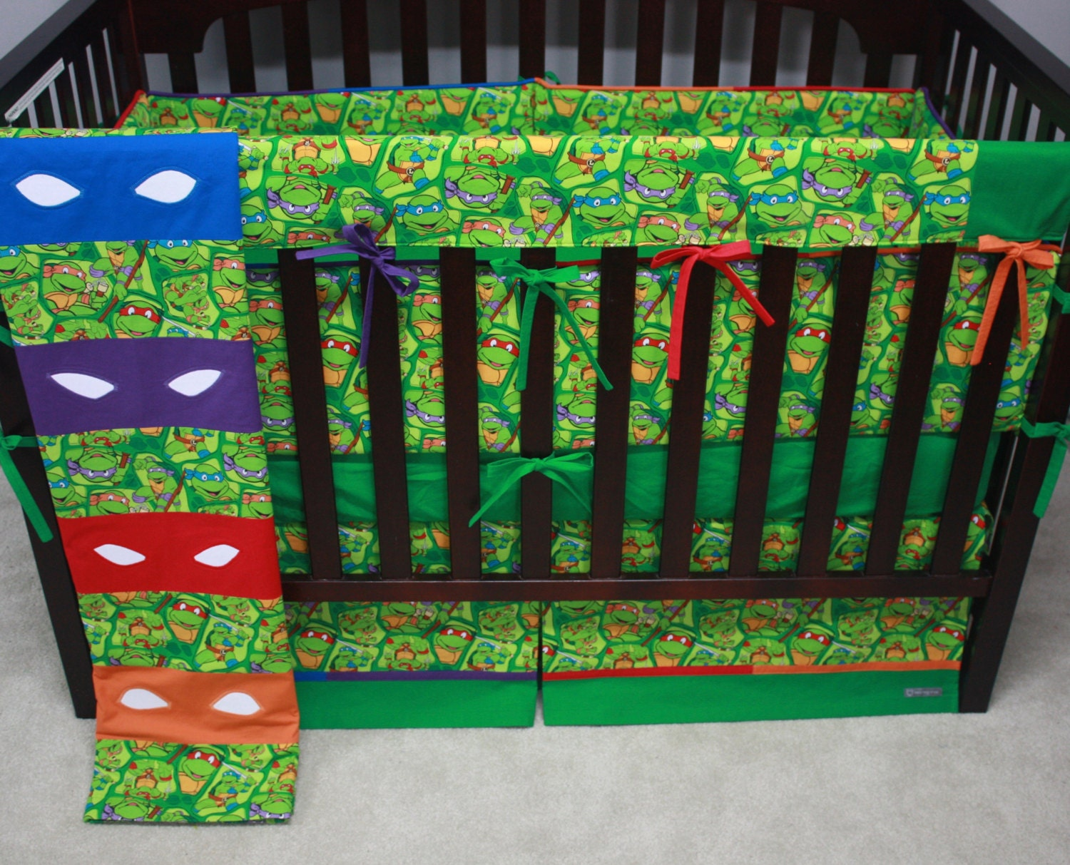 Teenage Mutant Ninja Turtle Baby Bedding Deluxe Mto By