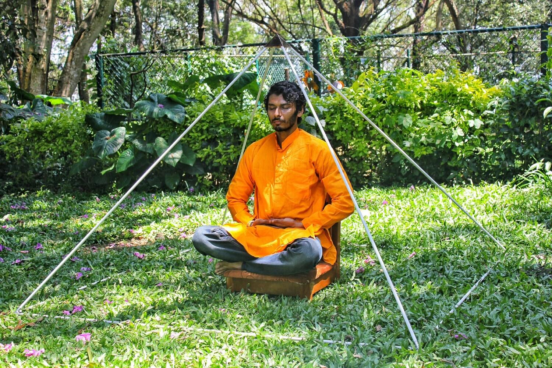 gizeh aluminium meditation pyramide 6 f e lite wight. Black Bedroom Furniture Sets. Home Design Ideas