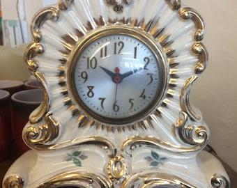 Vintage Porcelain Clock