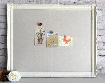 large magnetic board framed bulletin board message board
