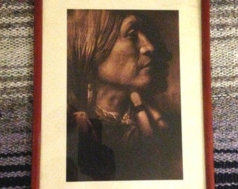 Native American Picture \\ Native American Art \\ Native American Photo \\ Indian Picture \\ 70s Decor \\ Hippie Art \\ Southwestern Art \\