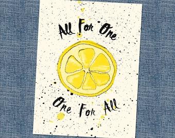 Stone Roses Song Lyric Card