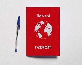 "Travel book ""Passport"""