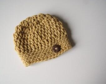 Baby Boy Hat, Baby Boy Beanie, Newborn Boy Hat, Chunky Baby Hat, Crochet Baby Hat, Crochet Beanie, Baby Hat