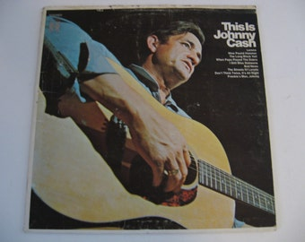 Johnny Cash - This Is Johnny Cash - 1969