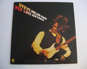 Steve Miller Band - Fly Like An Eagle - Circa 1976
