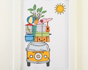 Wanderlust | Poster | Illustration | Nursery art