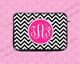 Monogram Laptop Case, Personalized Laptop Sleeve, Monogram Laptop Sleeve, Macbook Sleeve, Macbook Case, iPad Sleeve, iPad Case
