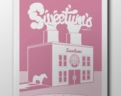 Parks and Rec - Sweetums Screen Printed Poster 18x24