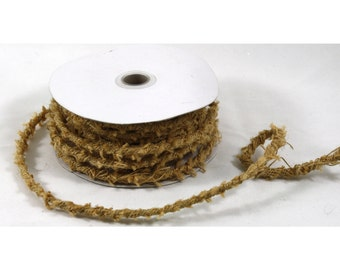 8mm x 10Y Jute Rope Wire - Fall Harvest Halloween Decoration (JRW410xx)