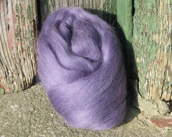 SALE Merino Wool Roving/top 64's 23 Microns - HEATHER. For Spinning,Wet or Needle Felting, Craft Work.