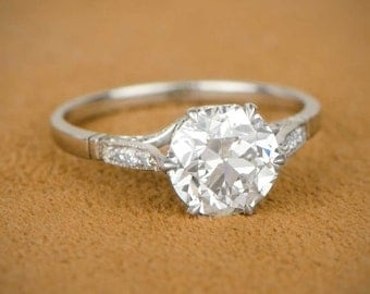 2.15ct Estate Diamond Engagement Ring