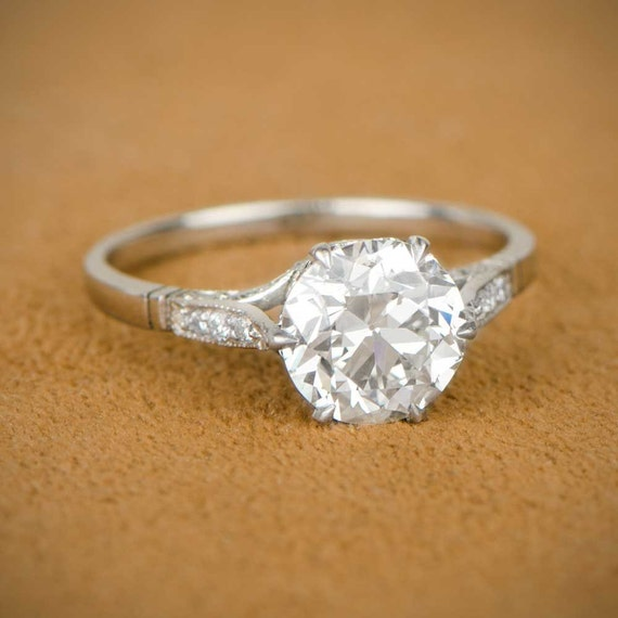 etsy wedding rings 2 15ct estate engagement ring 3942