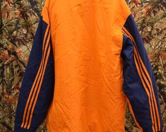 adidas orange blue coat jacket