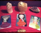 3 card reading with Getting into the vortex oracle cards